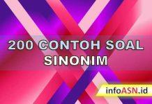 200 Contoh Soal CPNS Sinonim