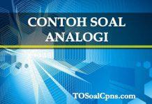 Contoh Soal Analogi - tosoalcpns