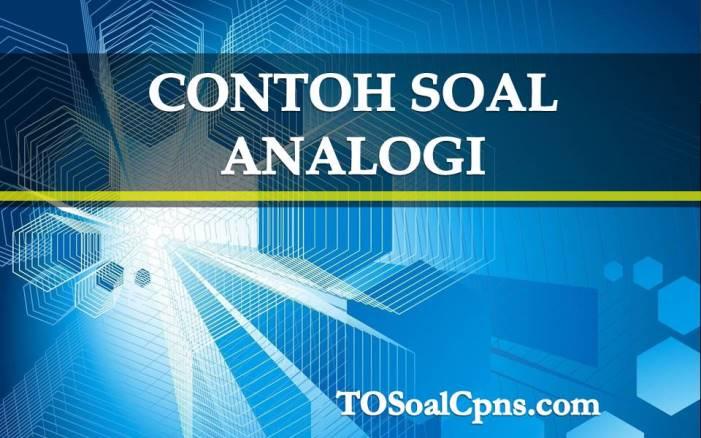 Contoh Soal Cpns Hots Analogi Dan Pembahasan Bagian 02
