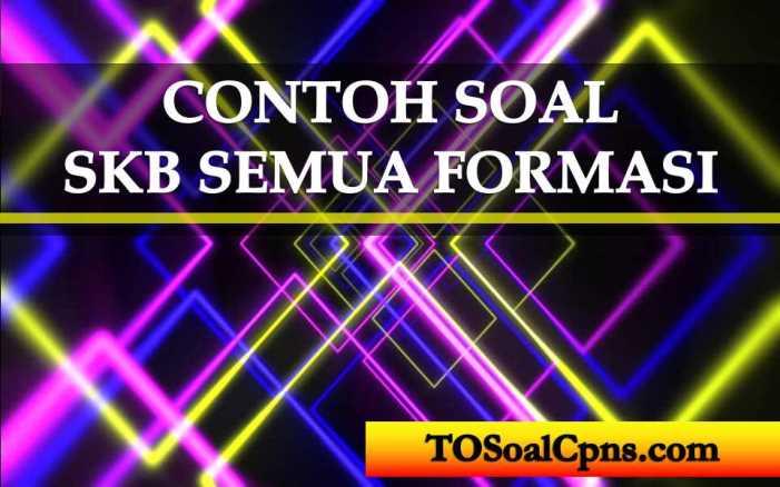 Contoh Soal Skb Cpns Semua Formasi Tosoalcpns Com