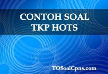 Contoh Soal TKP HOTS