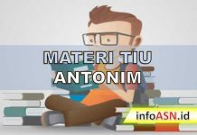 Materi TIU Antonim