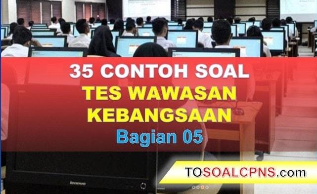 Contoh SOal CPNS TWK (5)-min