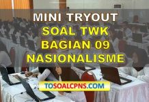 Mini TryOut CPNS TWK Nasionalisme