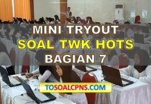 Mini TryOut TWK HOTS 7