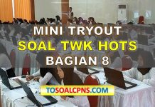 Mini TryOut TWK HOTS 8